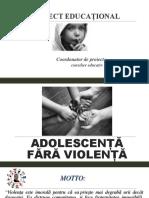 Adolescenta Fara Violenta