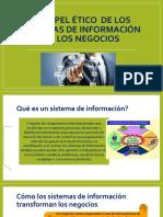 El Papel Ético de Los Sistemas de Información