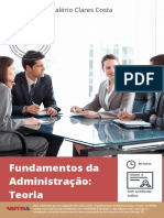 Fundamentos Da Administração - Teoria