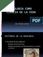Biologia Como Ciencia de La Vida