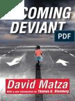 Matza - Becoming Deviant.pdf