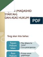 3. Tujuan Hukum Islam