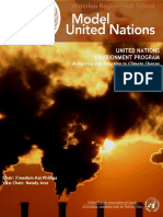 UNEP REPORT Rules of Engagement and Agenda Overview