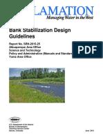 Bank Stabilization Design Guidelines