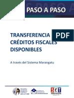 Guías Paso a Paso - Transferencia de Créditos Fiscales Disponibles