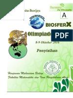 Soal Olimpiade Biologi Biosfer x