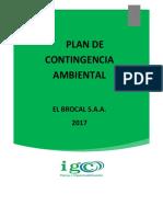 IGC-PL-SSOMA-006 Plan de Contingencia Ambiental