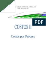 Costos Por Proceso Tema II