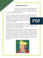 Biografía Manco Inca