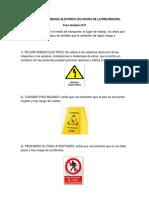 Foro Tematico # 3 Seguridad en Riesgo Electrico