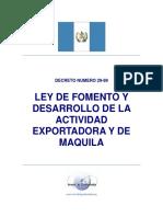 Decreto 29-89 Ley de Maquilas.pdf