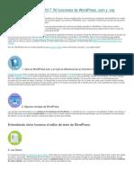 Manual de WordPress 2017