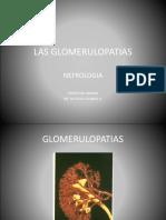 Presentation Glomerulopatias