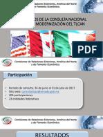14-08-17 Resultados de la Consulta Nacional sobre la modernización del TLCAN