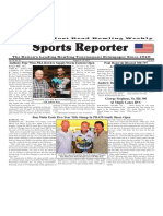 August 16 - 22, 2017  Sports Reporter