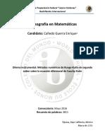 Monografía Matemáticas - Bachillerato Internacional