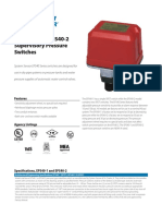 System Sensor Pressure Switch Model EPS40-2