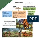 prehistoria resumen