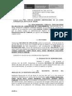 Apelacion de Sentencia Exp. 1381-2015 Lucho Torres