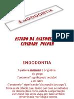 Endodontia - Anatomia Da Cavidade Pulpar[1]