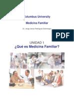 Que Es Medicina Familiar