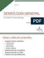 Semana 1 Sesión 4 - Semiologia General - Dr. Aviles