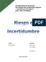 237153743 El Riesgo y La Incertidumbre (Y)