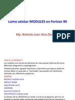 Como utilizar MODULES en Fortran 90.pptx