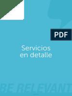 Detalles de Los Servicios Mailup