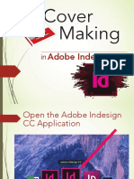 Cover Making in Adobe Indesign CC