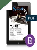 #Apostila TJ-PE - Técnico Judiciário (2016) - Editora Solução