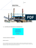 1.4.- Materiales Orgánicos e Inorgánicos Todo Ingenieria Industrial