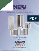 Lista de Precios Cajas Metalicas Ndu