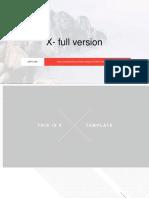 X Powerpoint