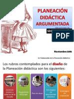Planeación Didáctica Argumentada (PPT)