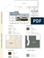 Health Fitness Center_Interior Design Project Boards
