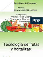 Carnicos Frutas y Hortalizas