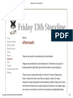 Aftermath - Friday 13th Storyline