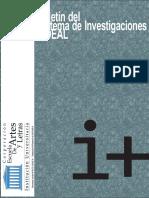 Boletin Sideal- Lineas de Investigación 2015