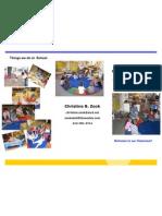 Head Start Classroom Brochure