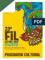 Programa Cultural Fil 2017