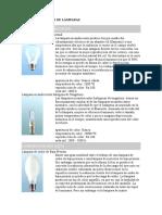 Copia de PRINCIPALES TIPOS DE LÁMPARAS.doc