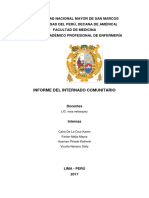 Informe Comunitario