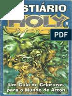 3D&T - Bestiário Holy Avenger (OCR) - Biblioteca Élfica