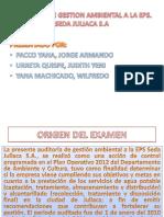 AUDITORIA DE GESTION AMBIENTAL