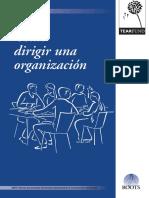 Como Dirigir a Una Organización