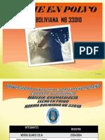 Leche en Polvo Norma Boliviana Nb 33010