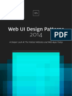 UI Design Patterns Chapter 1
