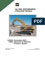 Manual Del Estudiante Excavadora 365C