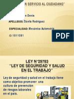Ley 29783